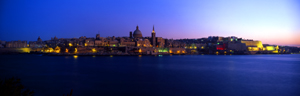 Valletta by Night , Malta